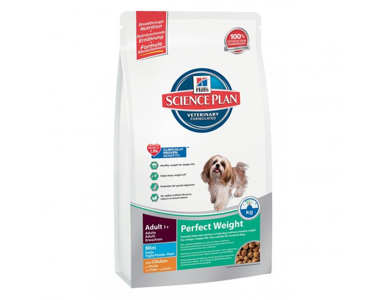 Hill's Science Plan Perfect Weight Canine Mini   2 kg